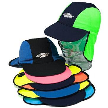 UVカット 帽子(子供用) - キッズ KIDS キャップ 子供 子ども 帽子 ※紫外線カット(UVカット)最高値UPF50+ S M 48cm〜57cm