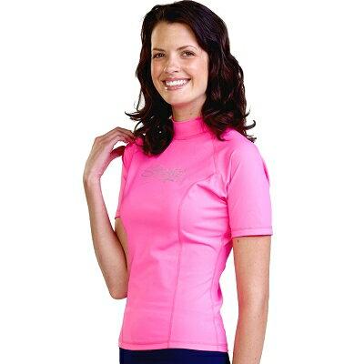 水着 レディース 女性 UVカット - レディース ラッシュガード 半袖※UVカット(紫外線カット)最高値UPF50+