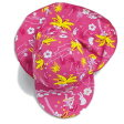 UVカット 垂れ付き帽子 ベビー用 帽子 uv ハワイ サイズ:XS (0〜1歳) ※紫外線カット(UVカット)最高値UPF50+