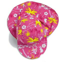 【紫外線対策先進国オーストラリアから直輸入!】UVカット垂れ付き帽子(ベビー用)ハワイ※紫外線カット(UVカット)最高値のUPF50+サイズ:XS(0〜1歳)
