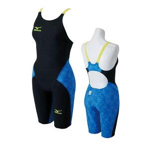 bb3e8593584 【FINAマーク付】競泳水着 レディース ミズノ 練習用 gx sonic3 競泳用水着