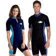 フィットネス 水着 メンズ レディース UVカット ユニセックス(男女共用)フィットネス 水着 メンズ スイムウェア スイムスーツ つなぎ ※紫外線カット(UVカット)最高値UPF50+