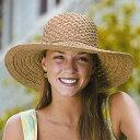 ストローハット レディース 麦わら帽子 帽子 レディース UV (ストローハット ラフィア) レディス ハット クローシェ キャプリーヌ レデイース ladies