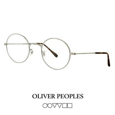 OLIVER PEOPLESラウンドメガネ4