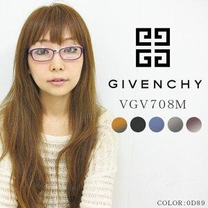 9b66b7d6090fed GIVENCHY 眼鏡 (メガネ) ジバンシー vgv708m 女性用 レディース 度なし 度付き どちらも UVカット レンズ を使用 紫外線対策  や 伊達メガネにもオススメ
