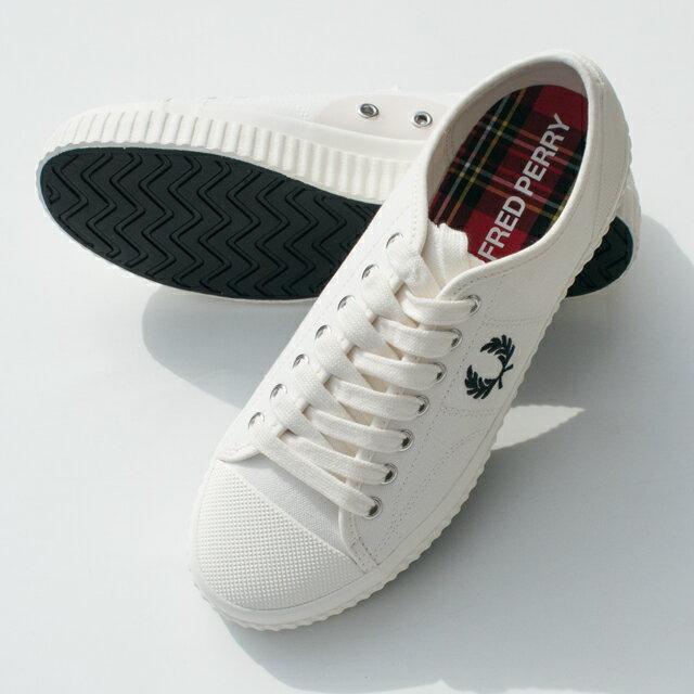 メンズ靴, スニーカー FRED PERRY B8108HUGHES LOW CANVAS
