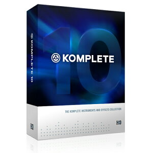 NATIVE INSTRUMENTS KOMPLETE 10 在庫あります!