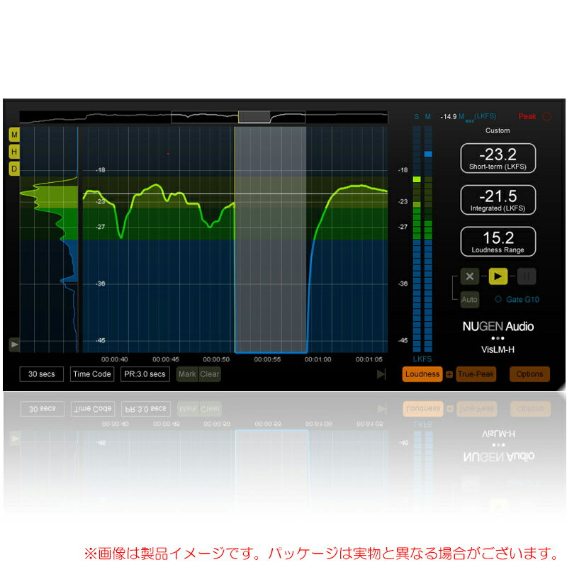 PCソフト, 音楽制作 NUGEN AUDIO VisLM-H 2 Loudness Meter