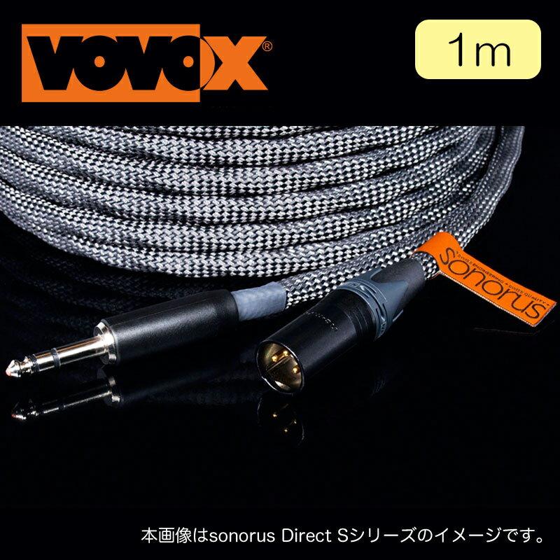 ケーブル, マイクケーブル VOVOX sonorus direct S 100 cm TRS-XLR(M) 6.3313