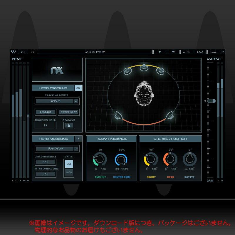 WAVES Nx Virtual Mix Room over Headphones ダウンロード版 安心の日本正規品!画像