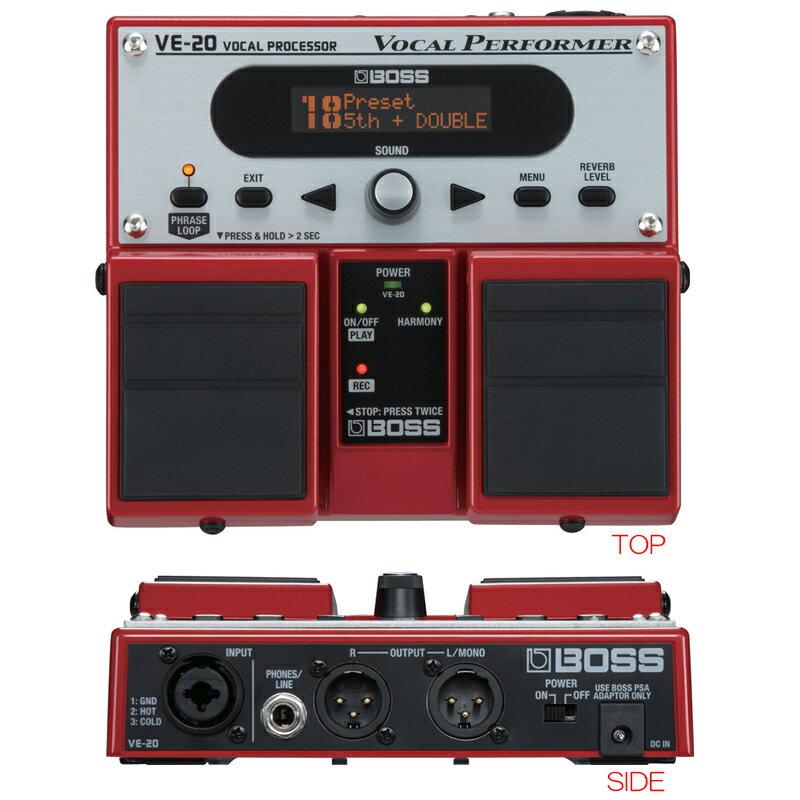 PA機器, エフェクター・プロセッサー BOSS VE-20