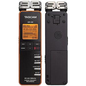 【在庫あります・即日出荷OK!】TEAC TASCAM DR-08 B 【配送料無料!!】