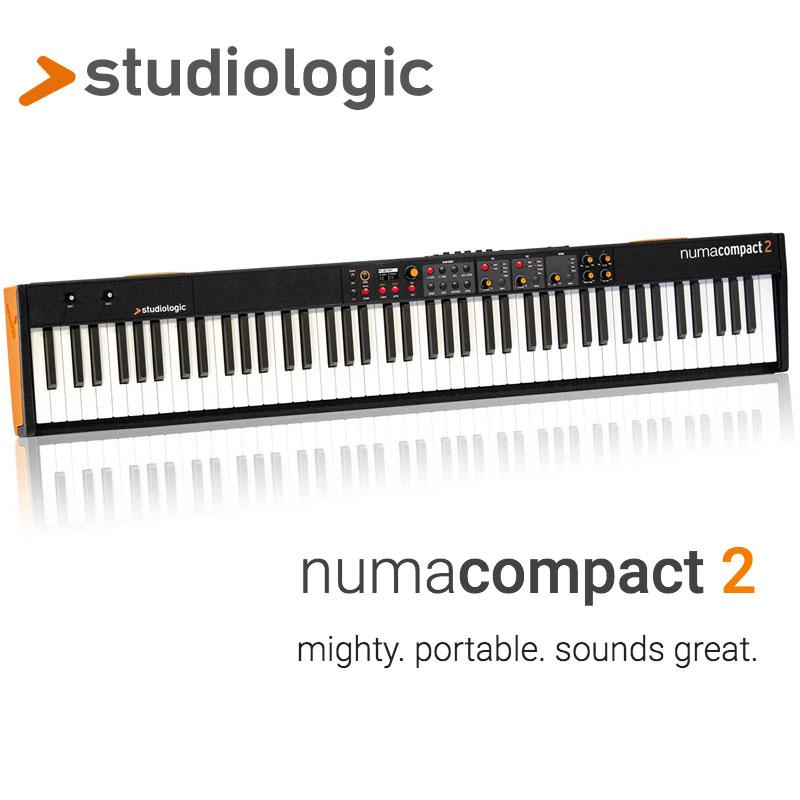 ピアノ・キーボード, 電子ピアノ STUDIOLOGIC NUMA COMPACT 2 GIGBAG()Cubase LE