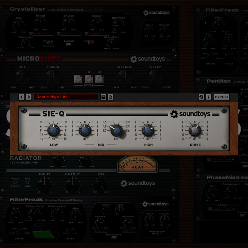 PCソフト, 音楽制作 SOUNDTOYS SIE-Q 5