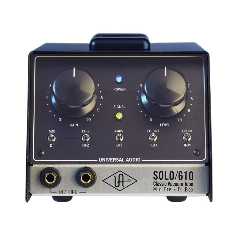 DAW・DTM・レコーダー, ダイレクトボックス UNIVERSAL AUDIO SOLO610 Classic Tube Preamplifier DI Box