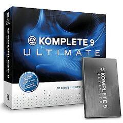 【明日欲しいなら、サンミューズで買おう!】NATIVE INSTRUMENTS KOMPLETE 9 ULTIMATE 【配送料...