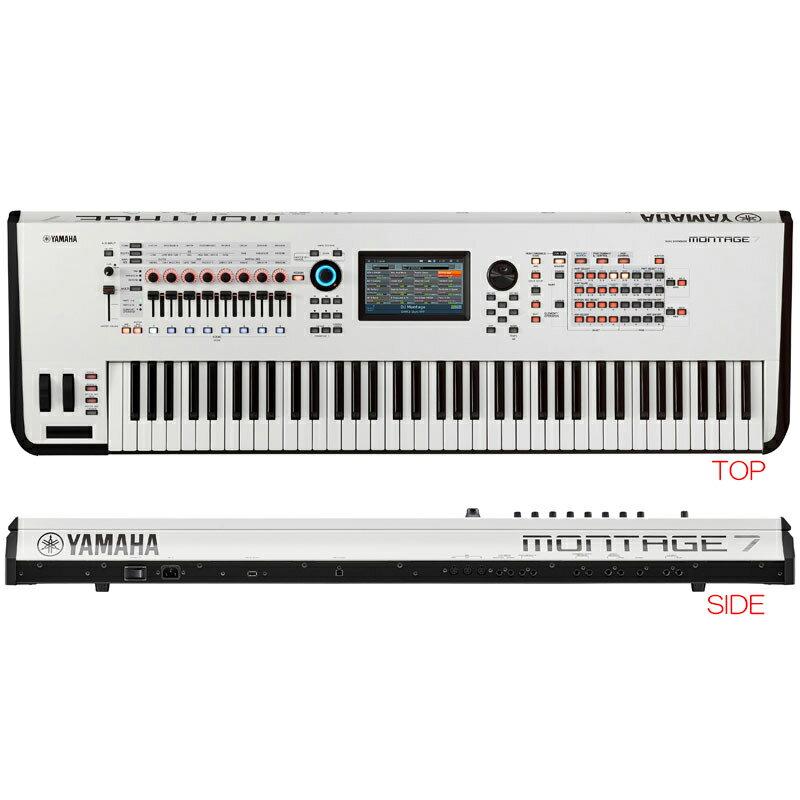 ピアノ・キーボード, キーボード・シンセサイザー YAMAHA MONTAGE7 WH 76