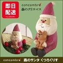デコレ コンコンブル クリスマス concombre 森のサンタ くつろぐりす DECOLE デコレ 【あす楽対応】
