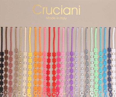 クルチアーニ Cruciani 刺繍ブレスレットMade in Italyクルチアーニ Cruciani 刺繍ブレスレット