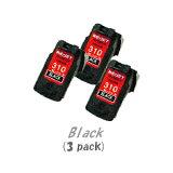 【ポイントアップ中!】【即納】キャノン BC-310(ブラック)[3個入り][CANONリサイクルインク]PIXUS iP2700 MP270 MP280 MP480 MP490 MP493 【安心保証】【送料無料】10P03Dec16