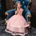 子供 ドレス ピアノ発表会 女の子 子供ドレス ワンピース 衣装 花柄刺繍 リボン ピアノ発表会 結婚式 コンクール 発表会 パーティー フォーマル 子どもドレス キッズドレス