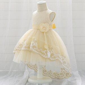 子供 ドレス ピアノ発表会 子供服 女の子 子供ドレス ワンピース 衣装 1歳-3歳 かわいいリボン 七五三 結婚式 baby kids