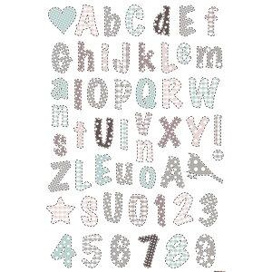 ウォールステッカー*キッズルーム(KidsLAB)「ロマンティックアルファベット」■シールはがせるアニマル動物アルファベット旗フラッグフェミニンルームメイツ