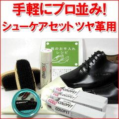 入門用シューケアセット 靴のお手入れ・靴磨きセットレビューを書いて【送料無料】