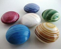「蛤(ハマグリ)6色おはじき」約50個入り日本製(Tiddlywink、Counter、お弾き、御弾き、オハジキ)