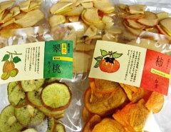 ちょっとワケあり国産フルーツチップス5袋セット(りんご×3・柿・キウイ) 日本産フルーツ限定