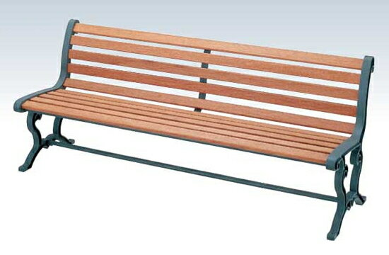 【いまだけポイント10倍】コンドル ベンチ 屋内用 屋外用 木製 180cm ベンチ YB-78L-WN 背付肘なし  :サンワード