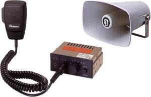 【送料無料】 拡声器 車用 マイク放送アンプ、選挙 スピーカー10W、12V車用 選挙、廃品回収に拡...