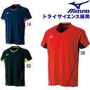 ミズノ mizuno ゲームシャツ(ユニセックス) 卓球ウェア メンズ レディース 82JA7006