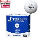 ニッタク(Nittaku) ジャパントップトレ球 5ダース(60個入り) NB-1366 卓球ボール プラスチックボール/プ...