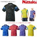 ニッタク Nittaku 卓球ユニフォーム スカイミルキーシャツ メンズ レディース ジュニア対応 NW-2189