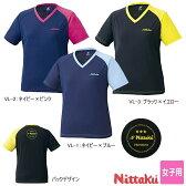 ニッタク Nittaku 卓球ウエア VNTレディースTシャツ NX-2079 女子用 卓球用品