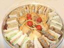 サンドウッチオードブル、角型、マヨネーズえび抜きも