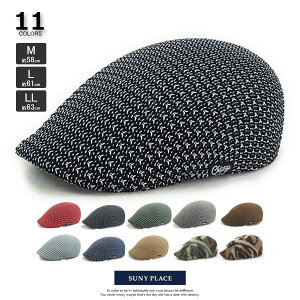 帽子 M/L/LLサイズ CS5-003 MIXサーモハンチング シンプルメンズ レディース 男性用 女性用 春夏 18SS 通気性 カジュアル アウトドア 大きい