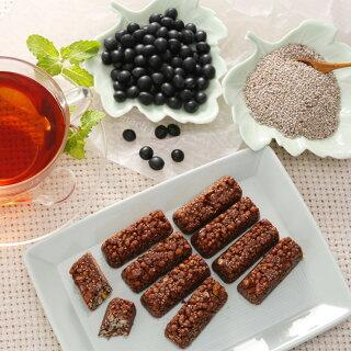 チアチョコレート盛り付け例1