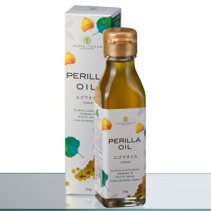 PERILLA OIL<エゴマオイル>110g 国内搾油 未精製油 エゴマ オメガ3 αリノレ…