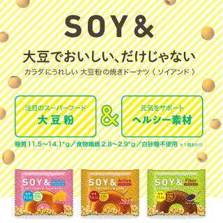ソイアンド18袋チーズ味はちみつジンジャー味黒ごま味大豆日本製糖質制限大豆タンパク