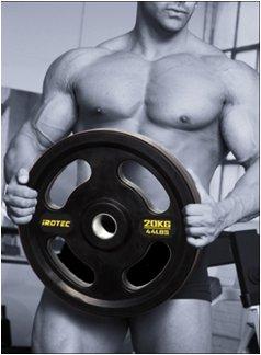 IROTEC(アイロテック)オリンピックラバーバーベル214kgセット【レビューを書いて本州送料半額】/ダンベル・ベンチプレス・トレーニングマシン・ウエイト・ウエイトトレーニング・トレーニング器具