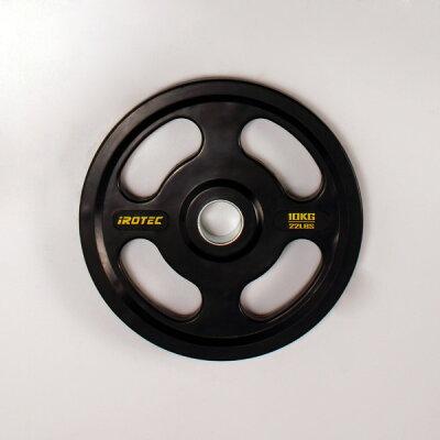 オールラバー仕様オリンピックプレート10KG/筋トレ/筋力トレーニング/ベンチプレス/ダンベル/筋力トレーニング器具
