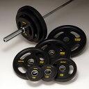 IROTEC(アイロテック)オリンピック ラバーバーベル 134kgセット/ダンベル・ベンチプレス・トレーニングマシン・トレーニング器具・筋トレ・スクワット