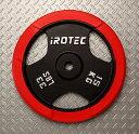 【25日はポイントアップDAY!】IROTEC(アイロテック)ラバープレート15KG/バーベル ダンベル ベンチプレス 筋トレ トレーニング器具 トレーニングマシン 鉄アレイ 筋トレ グッズ ウエイトトレーニング 筋力 筋肉