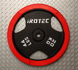 IROTEC(アイロテック)ラバープレート20KG /ダンベル・ベンチプレス・筋トレ・トレーニング器具・トレーニングマシン・鉄アレイ・健康器具
