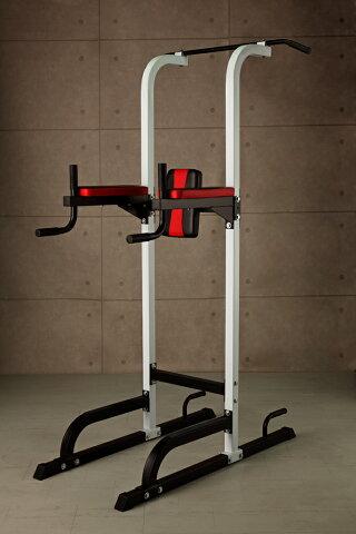 IROTEC(アイロテック)チン&ディップスタンド/チンニング 懸垂マシン トレーニングマシン 自宅 トレーニング 器具 筋トレ 器具 グッズ 健康器具 ダイエット器具 腹筋 懸垂器具 懸垂 マシーン ディップス 懸垂マシーン