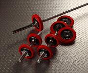 アイロテック ラバーバーベルダンベル ダンベル トレ・トレーニング トレーニング ダイエット 鉄アレイ ホームジム・マルチジム
