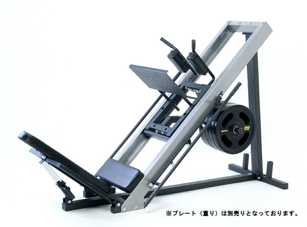 IROTEC(アイロテック) レッグプレスマシンLPM5-HPM / ダンベル・バーベル・ベンチプレス・筋トレ器具・スクワット・パワーラック・ホームジム・筋力・トレーニングマシン:スーパースポーツカンパニー