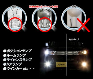 T10ledウェッジ球クリスタルカット仕様ポジション・ライセンス・ドアカーテシ・ルームランプに最適LEDバルブ2個1セット(ホワイト・ブルー・アンバー・レッド)